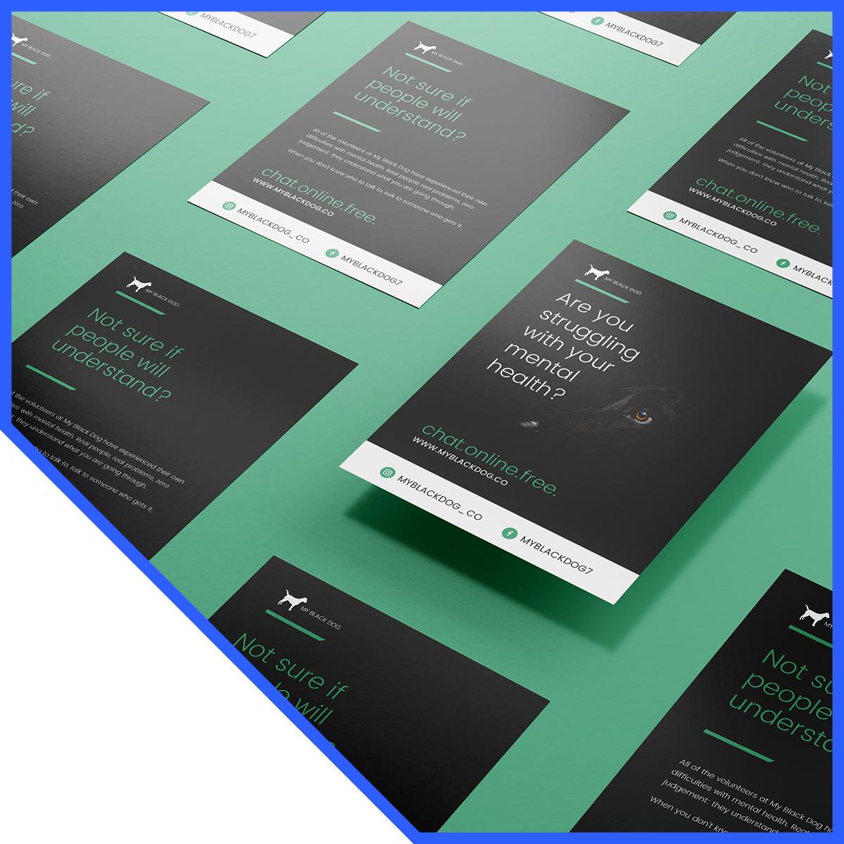 My Black Dog – Digital and Print Marketing